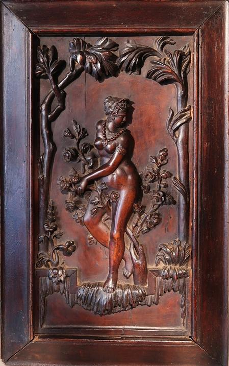 Nude Goddess Relief