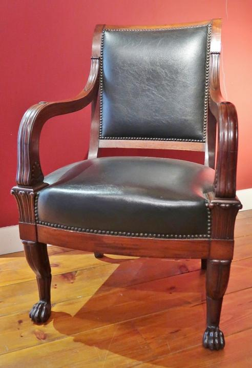 Pair of Charles X Arm-Chairs